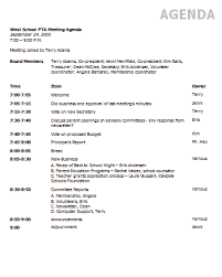 Templates For Meeting Agenda Agenda Template Keep Your Meeting Organized