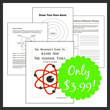 best homeschool chemistry images science the beginner s guide to atoms and the periodic table