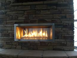 ... Outdoor Gas Fireplace Insert Ventless Fireplace Facts With Outdoor  Fireplace Corner Stone Fireplace Decorating ...