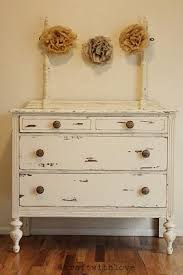 antique distressed furniture. vintage distressed dresser with flower decorations antique furniture w