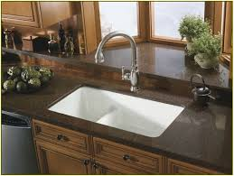 Brown Granite Kitchen Brown Kitchen Cabinets With Black Granite Quicuacom