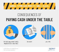 Is It Legal To Pay Employees Cash Under The Table