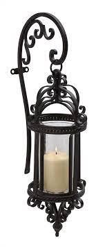 lantern candle sconce