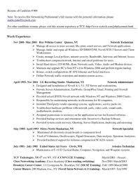 Sample Resume For Server Support Engineer Your Prospex