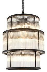 Casa Padrino Kronleuchter In Bronze Mit Vintage Glas 55 X H 78 Cm Luxus Wohnzimmermöbel Ceres Webshop