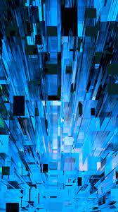 Blue Shards - 1440x2560 Wallpaper ...