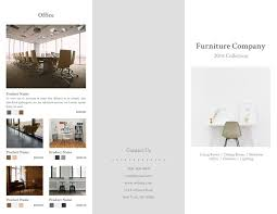 Interior Design Brochure Template Adorable 44 Free Pamphlet Templates Examples Lucidpress
