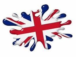 Grande 3D Stampato Effetto Macchie Union Jack Bandiera Inglese Adesivo Auto  | eBay