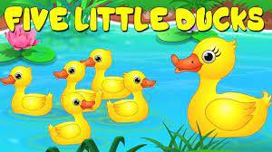năm vịt nhỏ   vần vịt cho trẻ em   bài hát cho trẻ em   Five Little Ducks    Ducks Song