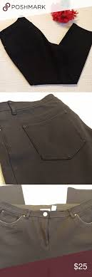 So Slimming By Chico S Size Chart Nwot Chicos Black So Slimming Pants 2 5 Short New Without