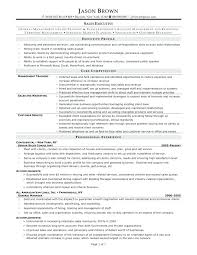 Retail Executive Resume Resume Templates Ideas Collection Sample For