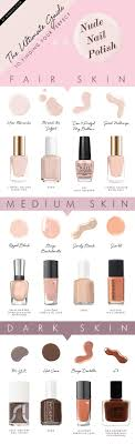 Nail Colors For Light Skin How To Match Nail Polish Color To Skin Tone Alldaychic