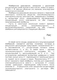 Мембранное равновесие Доннана Доклад реферат по химии скачать  Скачать документ