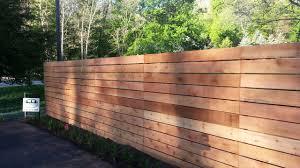 Custom Privacy Fence Designs Custom Horizontal Cedar Wood Fence Good Neighbor Looks