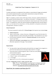Essay Assignment Examples
