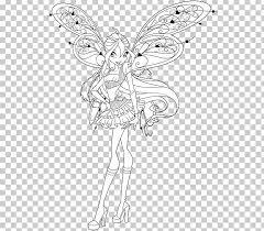 Coloring Book Drawing Winx Club Mission Enchantix Pencil Vampire