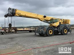 Grove Rt760 Load Chart Grove Rt760e Rough Terrain Crane Specs Dimensions
