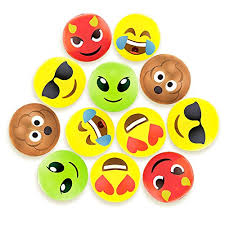 beach ball on beach. Beach Ball Set With Emoji Faces On