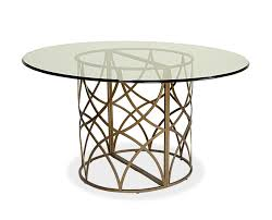 bases for round glass dining tables. dining room tables pedestal base with classic design : modern table idea using round glass bases for r