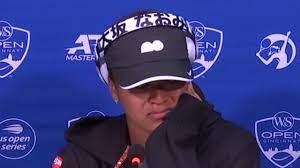 Tennis: Naomi Osaka bricht bei ...