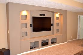 Small Picture Drywall Entertainment Center Houzz