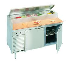 la rosa refrigeration l 14186 28 refrigerated counter pizza prep table