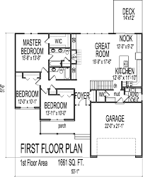 Small Picture 1661 square foot ranch House Plans Pinterest Ranch house