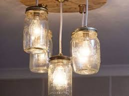 Diy mason jar lighting Light Hometalk Diy Mason Jar Chandelier Hometalk