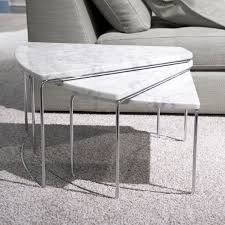 Table Basse Imitation Marbre Johncalle