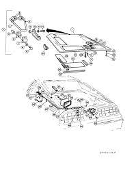 delorean motor company 8 4 4 engine compartment cover lower 8 4 4 engine compartment cover lower