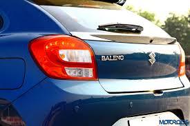 Baleno Back Light Price New Maruti Suzuki Baleno Alpha 1 3 Diesel Review Living