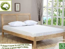 ecofurn ridgeway 4ft small double eco friendly wooden bed frame
