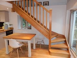 Open Plan Stair With Nosing, Square Spindles ...