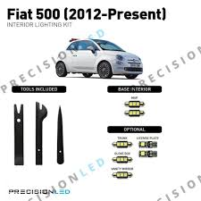 Fiat 500 Interior Light Bulb Fiat 500 Led Interior Package 2012 Present