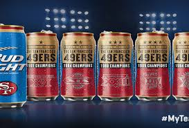 Steelers Bud Light Cans For Sale Bud Light Unveils New Nfl Super Bowl Cans Initiative
