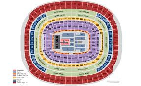 Redskins Seating Chart View Fedexfield Landover Md Seating Chart View
