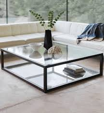 varying heights on coffee table