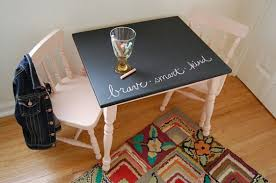 Inspired by chic decor and creative use of chalkboard paint. Lego Table Top