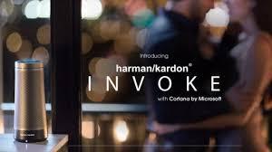 harman kardon makes this echo lookalike is made by harman kardon and it s powered by microsoft s cortana platform