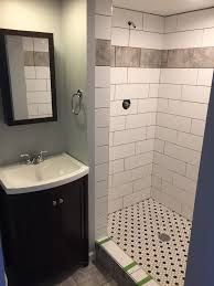 Shower Archives Mint Carpentry - Basement bathroom remodel