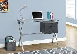 glass desks modern glass top office desks at officedeskcom glass top office desk glass top