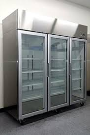glass front fridge. Fine Front 78u0026quot 3 Door Commercial Reach In Glass Front Refrigerator Merchandiser  MCF8603 With Fridge S