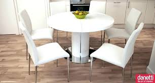 dining tables round dining table and chairs white set modern room including pertaining
