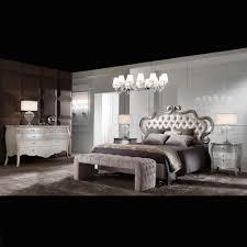Silver Leaf Bedroom Furniture Italian Luxury Champagne Leaf Bedside Cabinet Juliettes
