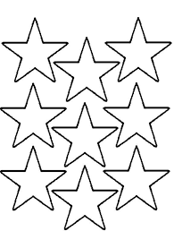 Small Picture Coloring Pages Multi Stars Print Coloring Pages
