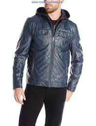 kenneth cole reaction mens quilted faux leather moto jacket with hood romantic district clearance fashion jshyj cdgkns1245
