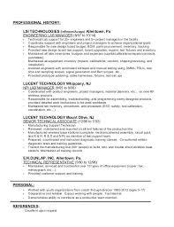 Tanning salon resume
