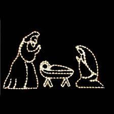 christmas rope lighting. modren lighting outdoor led clear nativity set to christmas rope lighting