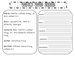 Pictures on Martin Luther King Jr Printable Worksheets, - Easy ...
