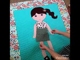 Paper Doll Blanket Pattern